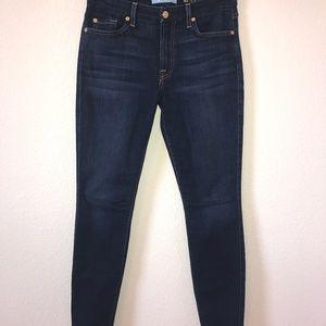 7FAM B(air) Denim Skinny Jeans Sz 28